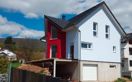 """Notre modèle de maison bois """"Ebene"""" rencontre un franc succès partout dans le Haut-Rhin"""