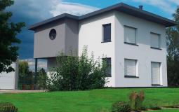 """Construction du modèle """"Alisier"""" à Wolfgantzen"""