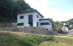 """Construction du modèle de maison """"Alisier"""" issu du catalogue de construction Olry Bois"""