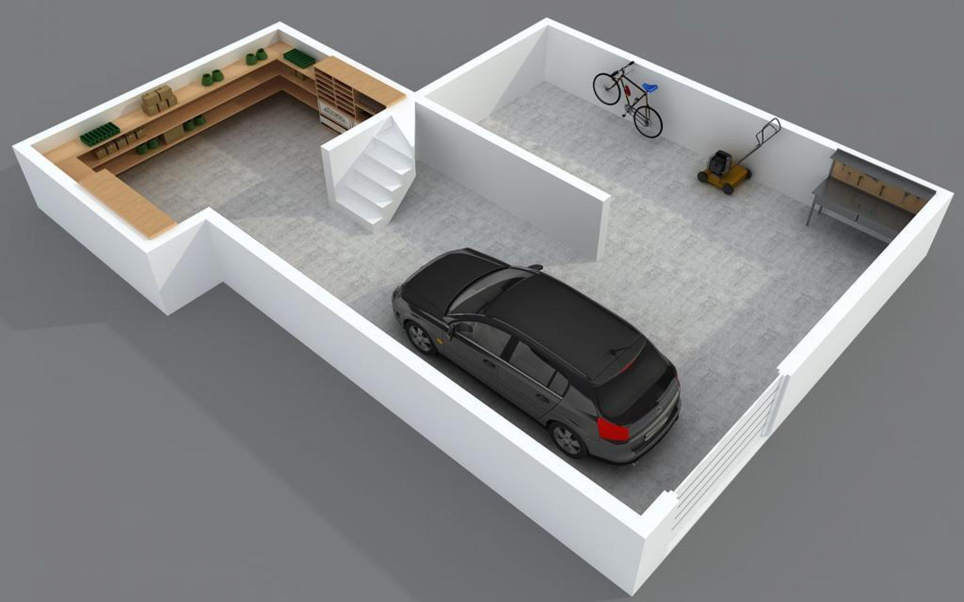 Sous-sol / garage